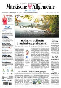 Märkische Allgemeine Dosse Kurier - 28. September 2019