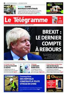 Le Télégramme Landerneau - Lesneven – 28 janvier 2020
