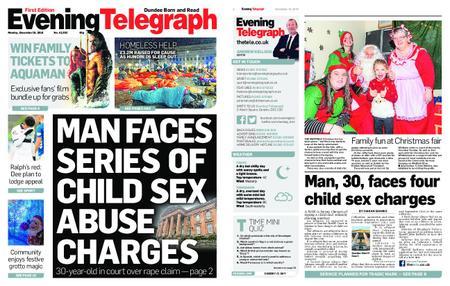 Evening Telegraph First Edition – December 10, 2018