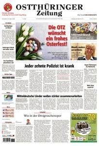 Ostthüringer Zeitung Gera - 31. März 2018