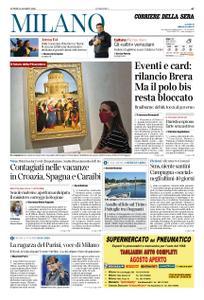 Corriere della Sera Milano – 10 agosto 2020