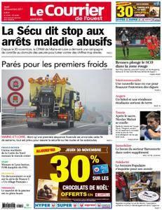 Le Courrier de l'Ouest Angers - 30 novembre 2017