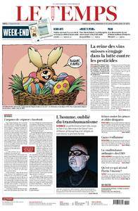 Le Temps - 31 mars 2018