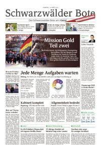Schwarzwälder Bote Blumberg - 10. März 2018