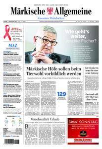 Märkische Allgemeine Zossener Rundschau - 01. Dezember 2017