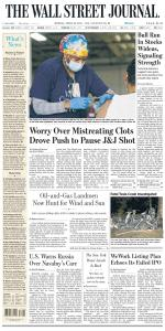 The Wall Street Journal - 19 April 2021