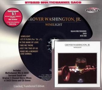 Grover Washington, Jr. - Winelight (1980) [Audio Fidelity 2015] (Repost)