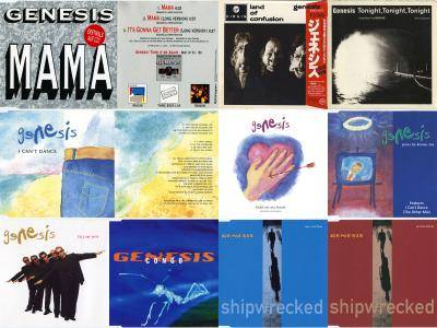 Genesis: Singles Collection (1983 - 1997) [10 CD] Re-up