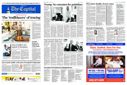 The Capital – April 30, 2020
