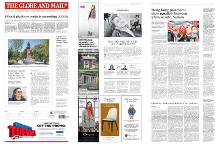 The Globe and Mail – September 30, 2019