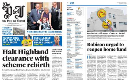 The Press and Journal Moray – July 22, 2021