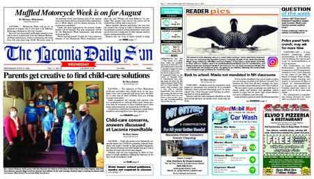 The Laconia Daily Sun – July 15, 2020