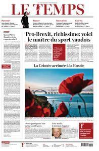 Le Temps - 16 mai 2018