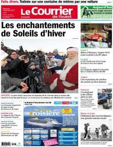 Le Courrier de l'Ouest Angers - 03 décembre 2017