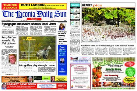 The Laconia Daily Sun – October 30, 2018