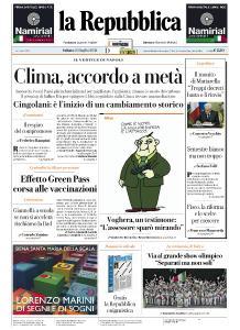 la Repubblica - 24 Luglio 2021