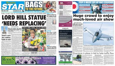 Shropshire Star Shrewsbury Edition – June 07, 2019