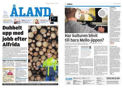 Ålandstidningen – 19 februari 2019