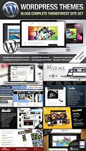 ThemeForest Creative Blog Wordpress Themes Bundle