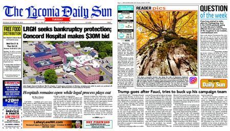 The Laconia Daily Sun – October 20, 2020