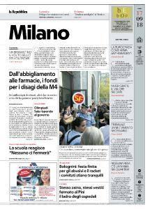 la Repubblica Milano - 17 Settembre 2018