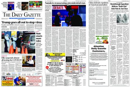 The Daily Gazette – March 19, 2020