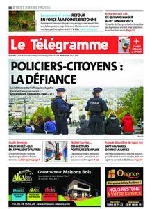 Le Télégramme Brest Abers Iroise – 23 novembre 2020