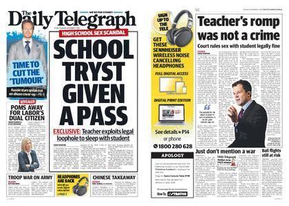 The Daily Telegraph (Sydney) – December 05, 2017