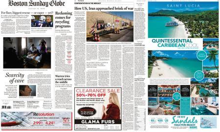 The Boston Globe – January 12, 2020