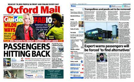 Oxford Mail – August 16, 2018