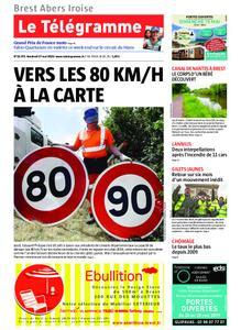 Le Télégramme Brest Abers Iroise – 17 mai 2019