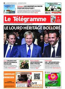 Le Télégramme Landerneau - Lesneven – 05 mars 2021