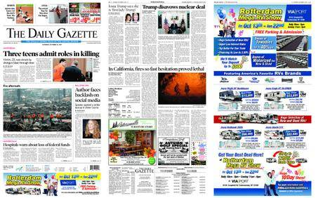 The Daily Gazette – October 14, 2017