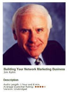 Building Your Network Marketing Business - Jim Rohn AUDIO BOOK