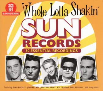 VA - Whole Lotta Shakin': Sun Records 60 Essential Recordings (2018) {3CD Box Set}