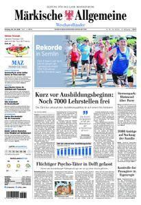 Märkische Allgemeine Westhavelländer - 30. Juli 2018