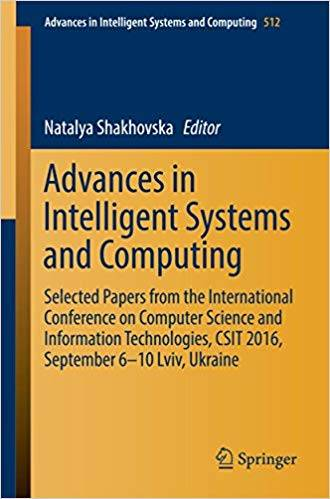 Advances in Intelligent Systems and Computing (Repost)