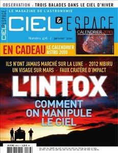 Ciel et Espace n°476 - Janvier 2010