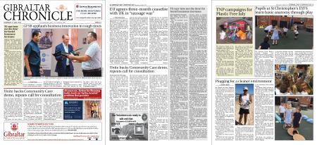 Gibraltar Chronicle – 01 July 2021