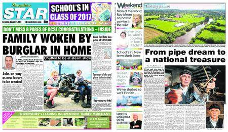 Shropshire Star Shrewsbury Edition – August 26, 2017