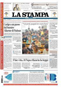La Stampa Imperia e Sanremo - 17 Novembre 2017