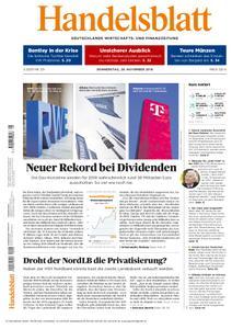 Handelsblatt - 29. November 2018