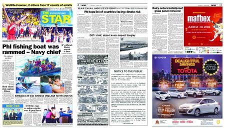 The Philippine Star – Hunyo 15, 2019