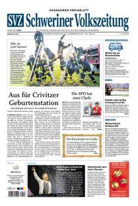 Schweriner Volkszeitung Hagenower Kreisblatt - 07. Dezember 2019
