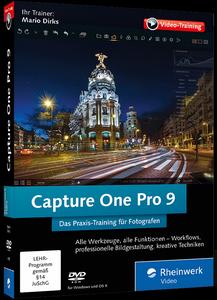 Capture One Pro 9 - Das Praxis-Training für Fotografen