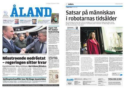 Ålandstidningen – 20 januari 2018