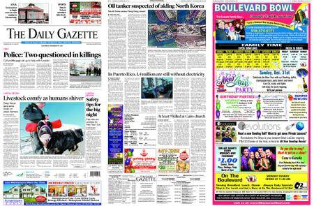 The Daily Gazette – December 30, 2017