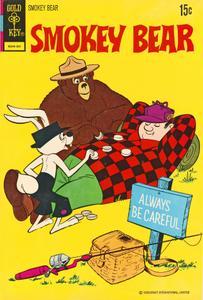 Smokey Bear 13 (c2c) (Gold Key) (1972)