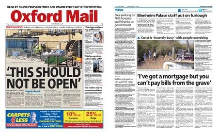 Oxford Mail – March 27, 2020