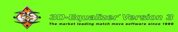 3D-Equalizer 3.0 R4 B8